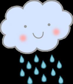 Cute Rain Cloud Clip Art at Clker.com - vector clip art online ...