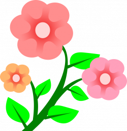 Clipart - 3 flowers