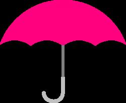 Pink Umbrella Clip Art at Clker.com - vector clip art online ...