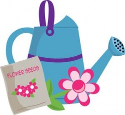 watering can clip art | Gardening Clipart Image: Clip Art ...