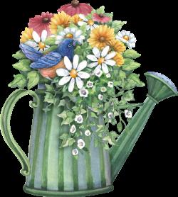 watering can full of spring flowers | decopaj | Pinterest | Spring ...