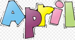 April shower Clip art - letters wordart png download - 1143*600 ...