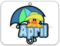 Free Month Clip Art | Month of April Rainbow Clip Art Image - the ...