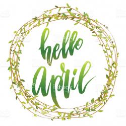 Hello April Images Clipart Free - May 2018 Calendar Printable PDF ...