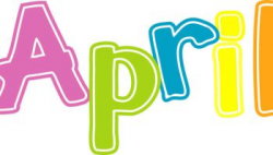 April Word Art