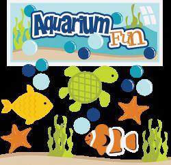 Aquarium Fun SVG aquarium clipart fish svg files turtle svg files ...