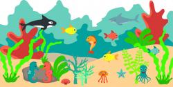 Home Wall Art | Aquarium Vinyl Mural