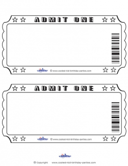 blank tickets to print free - Incep.imagine-ex.co