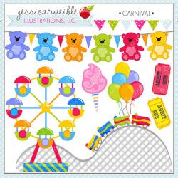 Carnival Cute Clipart Amusement Park Clip Art Summer