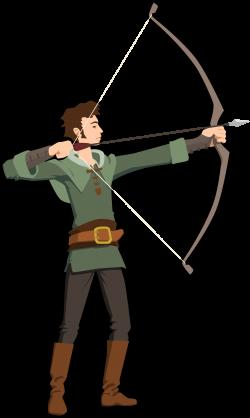 Clipart - archer