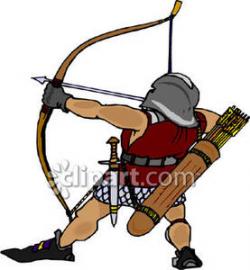 Medieval Archer Clipart