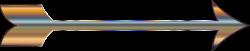 Clipart - Chromatic Arrow No Background
