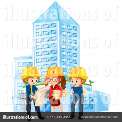 Architect Clipart #1389511 - Illustration by Graphics RF