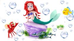 Princess Ariel The Little Mermaid Play Doh Cartoons & Stop Motion ...