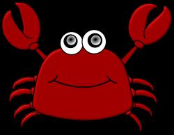 Clipart - Cartoon Crab