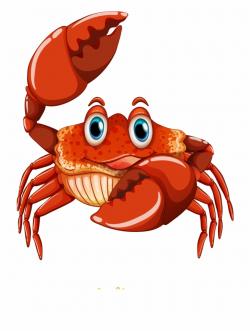 Crab Clipart Cartoon - Crab Clipart, Transparent Png ...