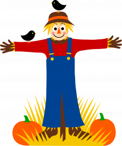 Cute Scarecrow Free Clipart