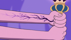 Image - S3E2 Black veins appear on Moon's left arm.png | Star vs ...