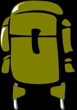 Army Green Backpack Clip Art at Clker.com - vector clip art online ...