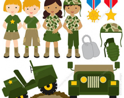 Army clipart | Etsy