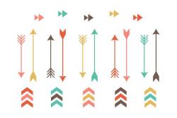 Tribal Arrow Clip Art ~ Illustrations ~ Creative Market