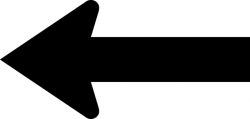 Left Arrow, Silhouette | ClipArt ETC