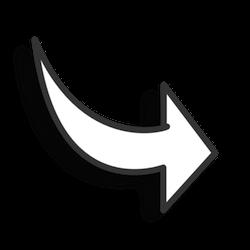 Fancy Arrow Black White Clipart | arrows | Pinterest | Arrow and Fancy