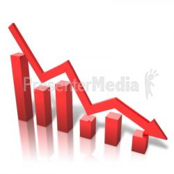 Arrow Graph Decline - Presentation Clipart - Great Clipart for ...