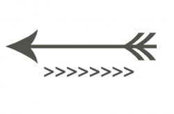 Single Arrow Clip Art Related Keywords & Suggestions - Single ...