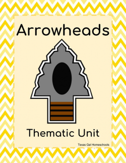 Arrowheads Thematic Unit Digital Download Archaeology Stone