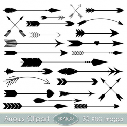 Arrows Clipart Vector Arrows Clip Art Tribal Digital Arrows