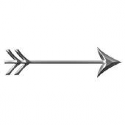 3D Silver Arrow Stock Illustrations - Royalty Free - GoGraph