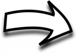 Black Curved Arrow Clipart - Clipart Kid   arrows   Pinterest ...
