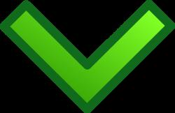 Green Single Down Arrow Set Clip Art at Clker.com - vector clip art ...