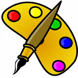 Art Supplies Clipart Png | Writings and Essays