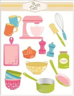 Cooking Clip Art // Baking Clip Art - Digital clip art, cooking ...