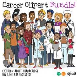 Career Clip Art, Nurse Clipart, Teacher Clip Art, Dentist Clip Art ...