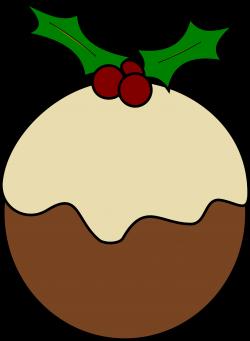 Clipart - Christmas pudding