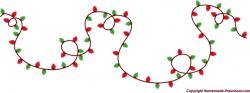 Free Christmas Lights Clipart