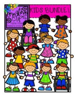 Sweet Kids Clip Art {FREEBIE}   KinderLand Collaborative   Pinterest ...