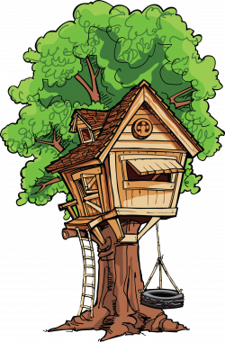 Tree House Clip Art | When you go into the creative world you have ...