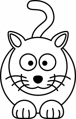 Line Drawing Of Cat at GetDrawings.com | Free for personal use Line ...