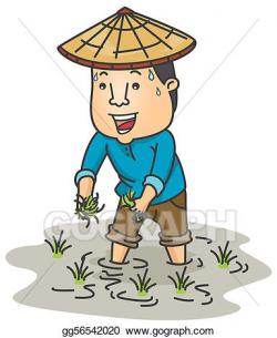 Stock Illustration - Farmer. Clipart Illustrations ...