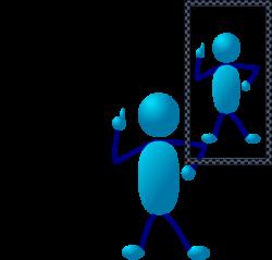Blue Stick Man Post Assessment Clip Art at Clker.com - vector clip ...