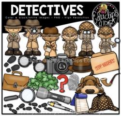 Detective Clipart Teaching Resources | Teachers Pay Teachers