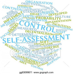 Stock Illustration - Control self-assessment. Clip Art gg63099871 ...