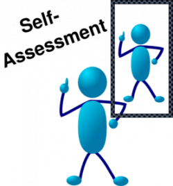 Blue Stick Man Self Assessment Clip Art at Clker.com - vector clip ...