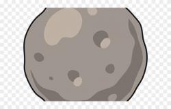 Asteroid Clipart Round Boulder - Clip Art - Png Download ...