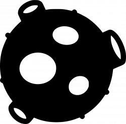 Asteroid Svg Png Icon Free Download (#535407) - OnlineWebFonts.COM