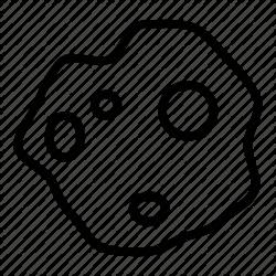 White Circle clipart - Asteroid, Circle, transparent clip art